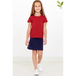Bluzki dziewczęce bawełniane: Koszulka w kolorze czerwonym