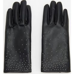 Rękawiczki - Czarny. Czarne rękawiczki damskie Reserved. Za 79,99 zł.