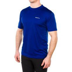 Craft Koszulka męska Prime Tee niebieska r. L (199205-1335). Białe koszulki sportowe męskie marki Adidas, l, z jersey, do piłki nożnej. Za 63,76 zł.