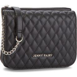 Torebka JENNY FAIRY - RH0885 Black. Czarne torebki klasyczne damskie marki Jenny Fairy, ze skóry ekologicznej. Za 69,99 zł.