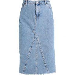 Spódniczki ołówkowe: NORR SKIRT Spódnica ołówkowa  blue