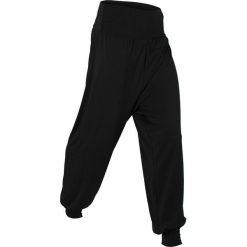"""Spodnie """"wellness"""" haremki, długie, Level 1 bonprix czarny. Czarne bryczesy damskie bonprix, na fitness i siłownię. Za 74,99 zł."""