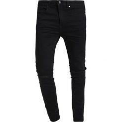 KIOMI Jeans Skinny Fit black denim. Czarne rurki męskie KIOMI. Za 129,00 zł.