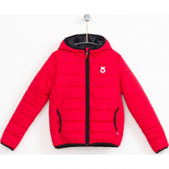 Kurtka w kolorze czerwonym. Czerwone kurtki dziewczęce marki Salt & Pepper, midi. W wyprzedaży za 124,95 zł.