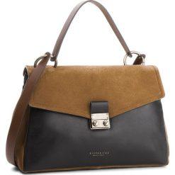Torebka HISPANITAS - BI87360  Black/Cognac. Brązowe torebki klasyczne damskie Hispanitas, ze skóry, duże. Za 869,00 zł.