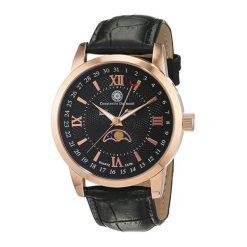 """Zegarki męskie: Zegarek """"CDCALEQZLTRGRGBK/B"""" w kolorze czarno-różowozłotym"""