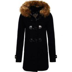 Płaszcze damskie: Superdry Krótki płaszcz midnight
