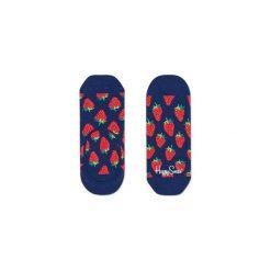 Skarpetki LINER Happy Socks STB06-6000. Białe skarpetki męskie marki Happy Socks, w kolorowe wzory. Za 19,53 zł.
