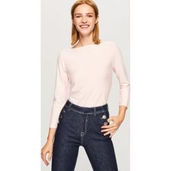 Sweter - Różowy. Czerwone swetry klasyczne damskie marki Reserved, l. Za 49,99 zł.