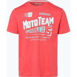 Mc Earl - T-shirt męski, czerwony. Czerwone t-shirty męskie z nadrukiem Mc Earl, m. Za 29,95 zł.