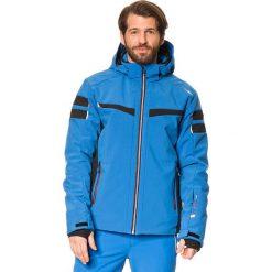 Kurtka narciarska w kolorze niebieskim. Niebieskie kurtki sportowe męskie CMP, m, z materiału, narciarskie. W wyprzedaży za 413,95 zł.