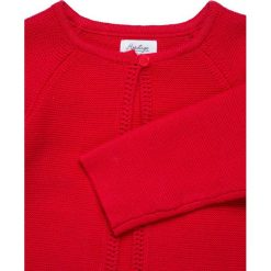 Swetry chłopięce: mothercare DITSY BLOOMER CARDIGAN AND SOCK BABY SET  Kardigan red