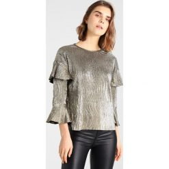 Bluzki asymetryczne: Ivyrevel MEMPHIS Bluzka z długim rękawem gold