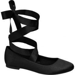 Baleriny damskie lakierowane: baleriny damskie Graceland czarne