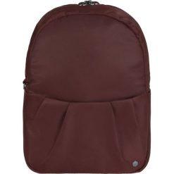 Plecaki damskie: Pacsafe Plecak antykradzieżowy Pacsafe Citysafe CX Convertible bordowy 8L