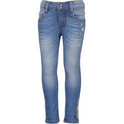 Blue Seven - Jeansy dziecięce 92-128 cm. Niebieskie rurki dziewczęce marki Blue Seven, z bawełny. W wyprzedaży za 99,90 zł.