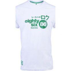 Koszulki sportowe męskie: PROJEKT 86 Koszulka męska T-shirt 001WT biała r. XL (921357)