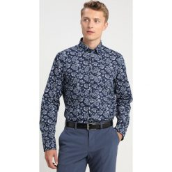 Seidensticker COVERED BUTTON DOWN Koszula darkblue/darkrgreen. Niebieskie koszule męskie Seidensticker, m, z bawełny, button down. Za 349,00 zł.
