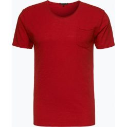 Drykorn - T-shirt męski – Teo, czerwony. Niebieskie t-shirty męskie marki DRYKORN, m, z dekoltem karo. Za 229,95 zł.