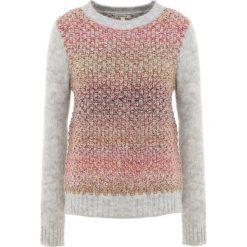 Barbour HAMBLE KNIT Sweter light grey marl. Szare swetry klasyczne damskie Barbour, z bawełny. Za 539,00 zł.