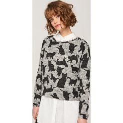 Sweter w koty - Szary. Szare swetry chłopięce marki Reserved, s. W wyprzedaży za 39,99 zł.