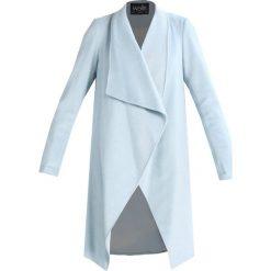 Płaszcze damskie: Wallis DRAWN WATERFALL Płaszcz wełniany /Płaszcz klasyczny ice blue