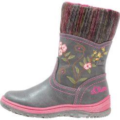 S.Oliver RED LABEL Śniegowce grey. Szare buty zimowe damskie marki s.Oliver RED LABEL, z materiału. W wyprzedaży za 191,20 zł.