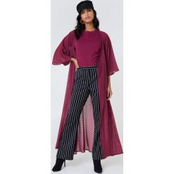 NA-KD Boho Sukienka-płaszcz z szyfonu - Purple. Czarne sukienki boho marki bonprix, na co dzień, z szyfonu. Za 161,95 zł.