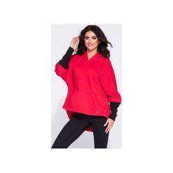 Bluza damska kangurka z kapturem. Szare bluzy rozpinane damskie Bien fashion, m, z bawełny, z długim rękawem, długie, z kapturem. Za 169,00 zł.