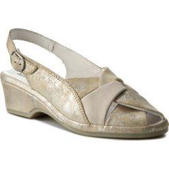 Rzymianki damskie: Sandały COMFORTABEL – 710749 Beige 8