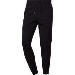 Emporio Armani PANTALONI Spodnie treningowe nero. Szare spodnie dresowe męskie marki Emporio Armani, l, z bawełny, z kapturem. Za 639,00 zł.
