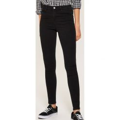Jeansy skinny - Czarny. Czarne jeansy damskie skinny House. Za 99,99 zł.