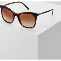 Burberry Okulary przeciwsłoneczne havana. Brązowe okulary przeciwsłoneczne damskie aviatory Burberry. Za 699,00 zł.