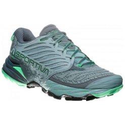 La Sportiva Buty Do Biegania Damskie Akasha Woman Stone Blue/Jade Green 39. Niebieskie buty do biegania damskie La Sportiva, w geometryczne wzory. Za 635,00 zł.