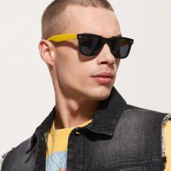 Akcesoria męskie: Okulary przeciwsłoneczne – Żółty