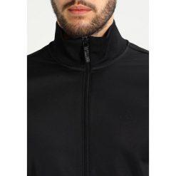 Armani Exchange Bluza rozpinana black. Czarne bluzy męskie rozpinane marki Armani Exchange, l, z materiału, z kapturem. Za 479,00 zł.