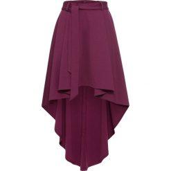 Spódnice wieczorowe: Spódnica z dłuższym tyłem bonprix jeżynowy