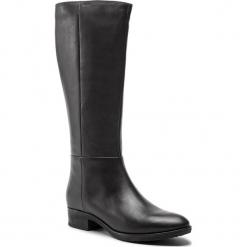 Oficerki GEOX - D Felicity D D84G1D 00043 C6009 Coffee. Brązowe buty zimowe damskie Geox, z materiału, na obcasie. W wyprzedaży za 469,00 zł.