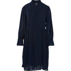 Sukienki: Granatowa Sukienka Acquiescence