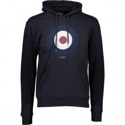 """Bluza """"Target"""" w kolorze granatowym. Niebieskie bluzy męskie z kieszeniami marki Ben Sherman, m, z nadrukiem. W wyprzedaży za 152,95 zł."""