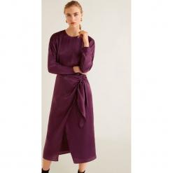 Mango - Sukienka Daiana. Szare długie sukienki marki Mango, na co dzień, l, z tkaniny, casualowe, z dekoltem halter, na ramiączkach, rozkloszowane. Za 229,90 zł.