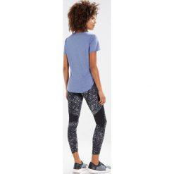 Adidas Performance RESPONSE SOFT TEE Tshirt basic nobind/colhtr. Niebieskie t-shirty damskie adidas Performance, xl, z bawełny. Za 149,00 zł.