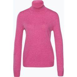 Golfy damskie: Franco Callegari – Sweter damski z czystego kaszmiru, różowy