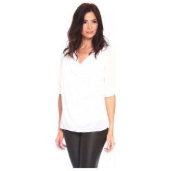 La Belle Parisienne Bluzka Damska Alice S Biała. Czarne bluzki z odkrytymi ramionami marki Fille Du Couturier, z bawełny. Za 125,00 zł.