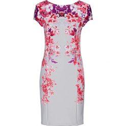 Sukienki: Sukienka bonprix srebrny z nadrukiem
