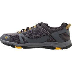 Jack Wolfskin ACTIVATE LOW  Obuwie hikingowe burly/yellow. Szare buty sportowe męskie Jack Wolfskin, z materiału, outdoorowe. Za 379,00 zł.
