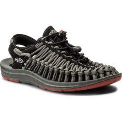 Sandały KEEN - Uneek Flat 1016899 Black/Bossa Nova. Czarne sandały męskie skórzane Keen. W wyprzedaży za 339,00 zł.
