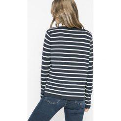 Vila - Sweter Strike. Szare swetry klasyczne damskie Vila, l, z bawełny, z okrągłym kołnierzem. W wyprzedaży za 59,90 zł.