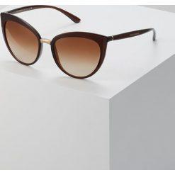 Dolce&Gabbana Okulary przeciwsłoneczne brown. Brązowe okulary przeciwsłoneczne damskie aviatory Dolce&Gabbana. Za 819,00 zł.
