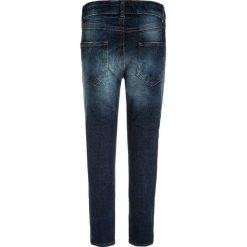 Sisley Jeansy Slim Fit blue denim. Niebieskie jeansy dziewczęce Sisley, z bawełny. W wyprzedaży za 126,75 zł.